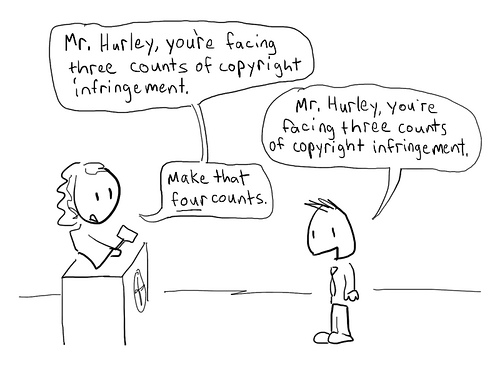 copyright cartoon