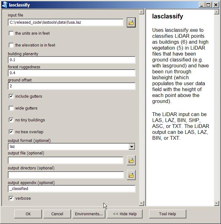 ArcGIS LAStools toolbox for LiDAR processing   rapidlasso GmbH