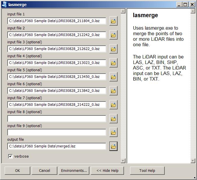 ArcGIS LAStools toolbox for LiDAR processing | rapidlasso GmbH