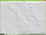 where the mouse cursor is you can see evidence of German trenches in the hills surrounded by craters from the shelling.