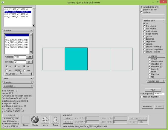 tutorial3 lasview gui bil