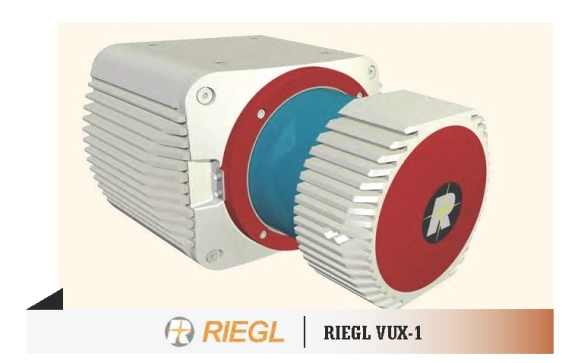 The new RIEGL VUX-1 laser scanner for UAVs ...