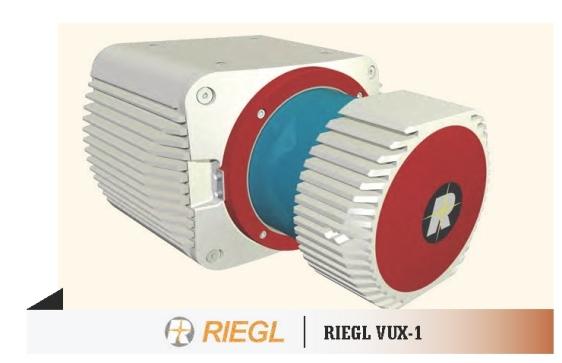 The new RIEGL VUX-1 laser scanner for UAVs ...