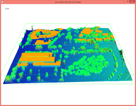 Automated building and vegetation classification with lasclassify.