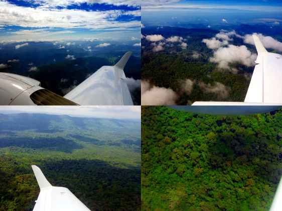 Above Khao Yao National Forest scanning for the pro-bono test flight to investigate the canopy penetration of our LiDAR.