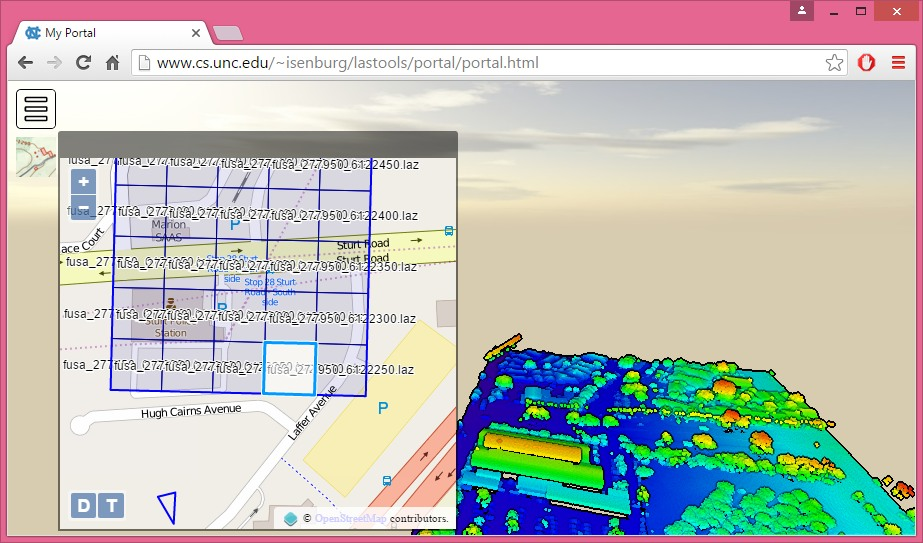 Potree 1 3 - web point cloud viewer - Laser Scanning Forum