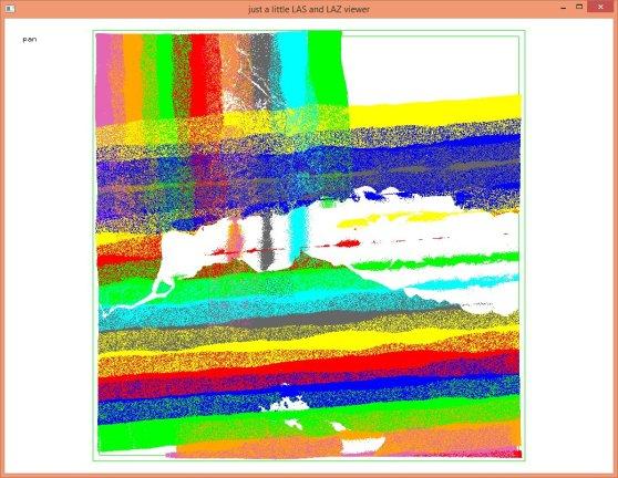 color by flight line