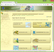 """Then click on """"Estonian Topographic Database""""."""