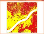 Tile with map sheet index 475681 from spring 2014 colored by return type.